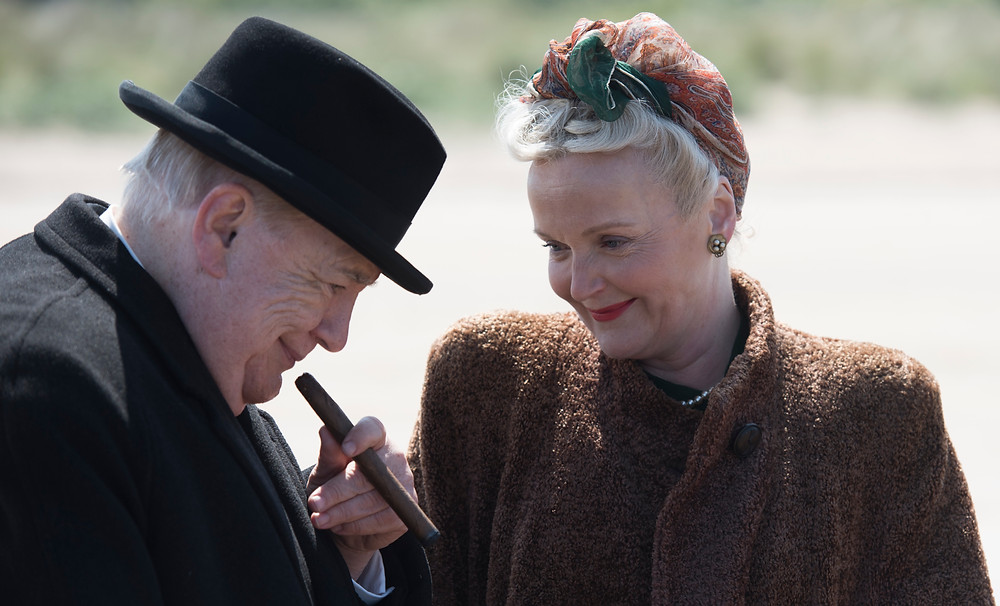 Brian Cox & Miranda Richardson as Winston & Clementine Churchill © Graeme Hunter Pictures