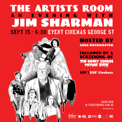 The Artist's Room @ Event Cinemas – Jim Sharman and The Rocky Horror Picture Show