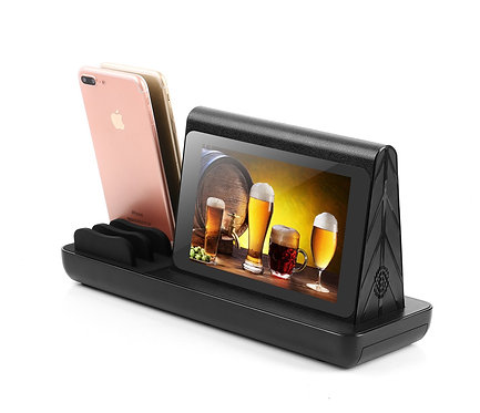 Double Ecran LCD Android WiFi Tableau Publicité joueur / Restaurant Menu Power B