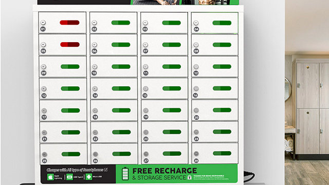 Casier de chargement de téléphone portable 28