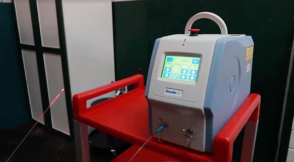 Diode Laser setup