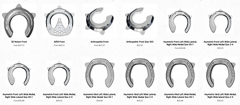 therapeutic horseshoes
