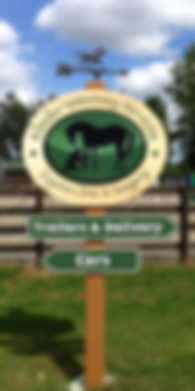 Kleider Veterinary Services Parking Sign