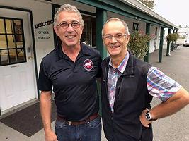 Dr. Kleider and Professor Denoix