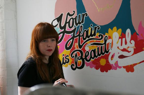 Atomic Mural - Client: Wigwam
