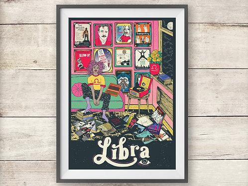 Libra Print - Astrology - Horoscope - Zodiac Print