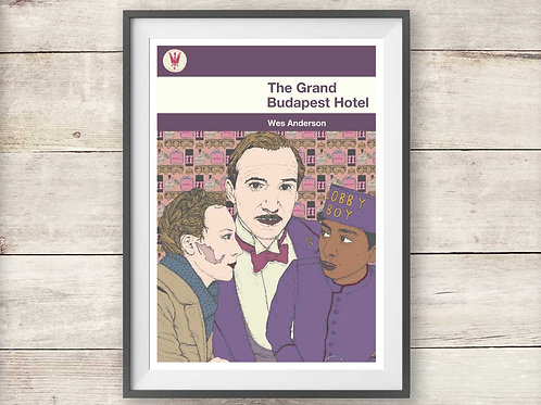 The Grand Budapest Hotel - Wes Anderson - Print