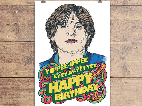 Happy Mondays Card - Shaun Ryder Birthday Greeting Card