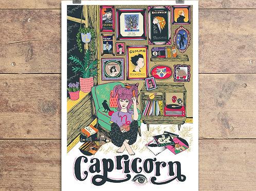 Capricorn Greeting Card - Astrology - Zodiac
