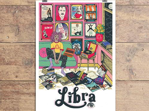 Libra Greeting Card - Astrology - Zodiac