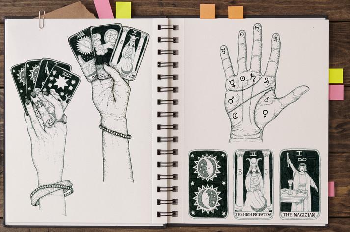 Cross My Palm With Tarot