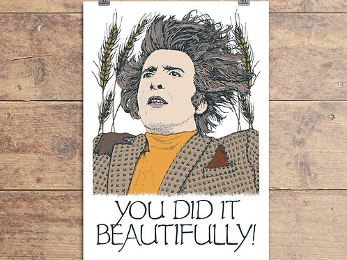 The Wicker Man Greeting Card - You Did It Beautifully!
