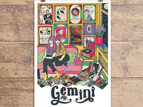 Gemini Greeting Card - Astrology - Zodiac