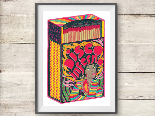 Disco Inferno - Poster - Print