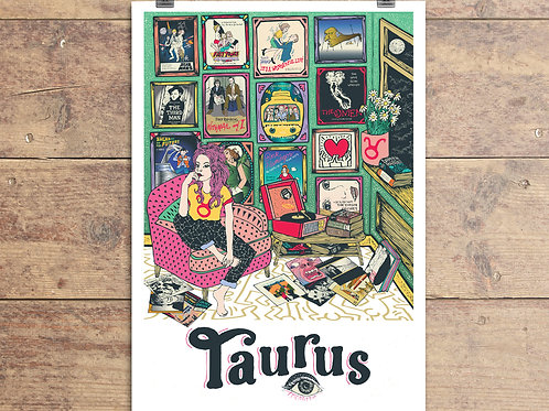 Taurus Greeting Card - Astrology - Zodiac