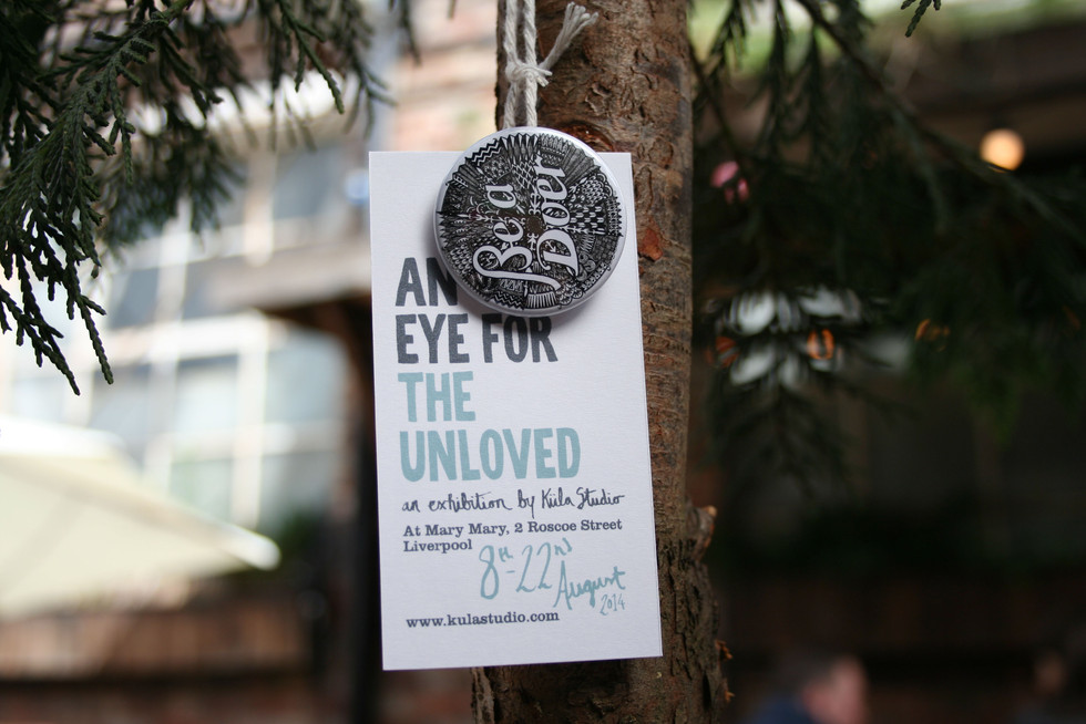 An Eye For The Unloved - Exhibition Identity