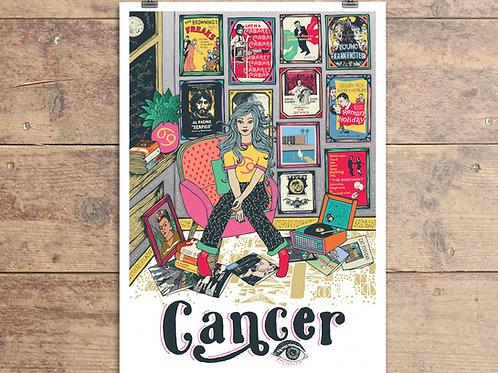 Cancer Greeting Card - Astrology - Zodiac