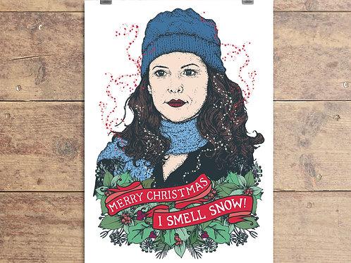 Gilmore Girls - Lorelai Christmas Card
