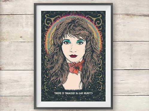 Kate Bush - Running Up That Hill - Print