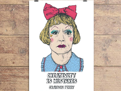 Grayson Perry Quote Greeting Card