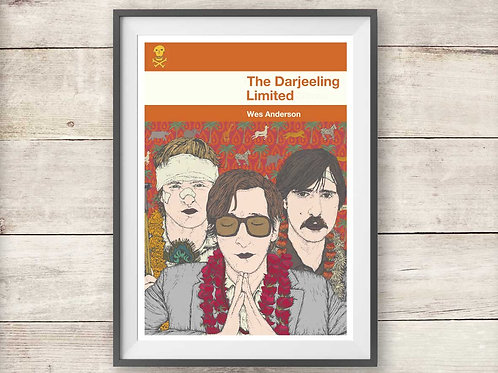 The Darjeeling Limited - Wes Anderson - Print