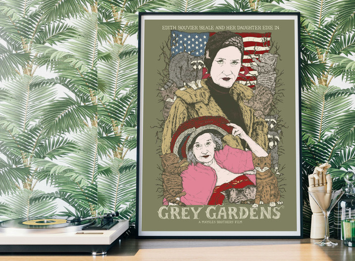 Grey Gardens - Self Motivated Print