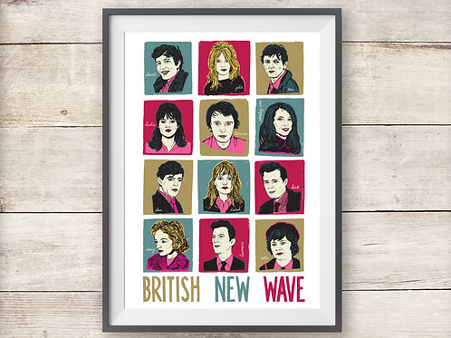 British New Wave - Kitchen Sink Realism - Cinema - Print - Poster