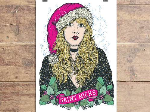 Stevie Nicks Christmas Card