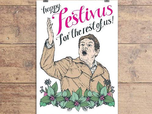 Seinfeld - Festivus Greeting Card