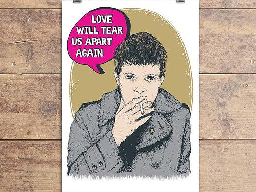 Joy Division - Ian Curtis - Greeting Card