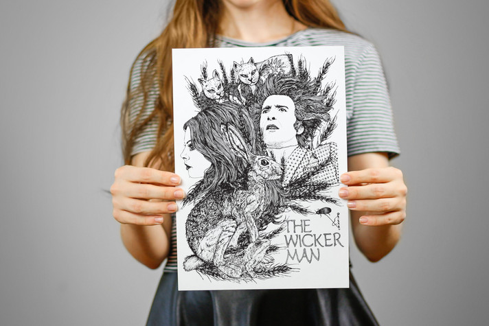 The Wicker Man - Self Motivated Print