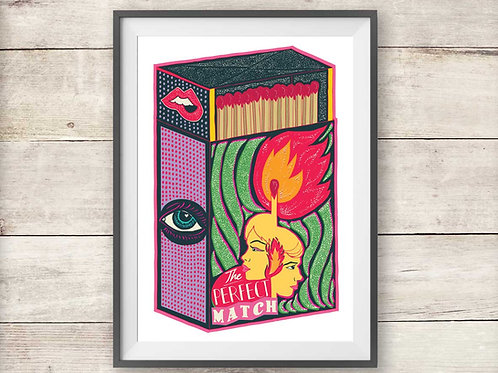The Perfect Match - Poster - Print