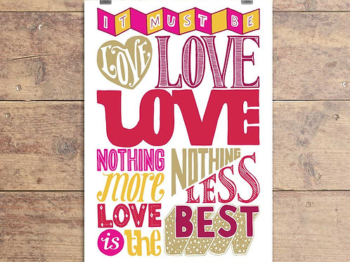 Madness - Labi Siffre - It Must Be Love Greeting Card