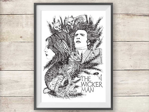 The Wicker Man Print