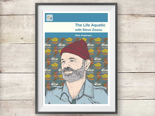 The Life Aquatic with Steve Zissou - Wes Anderson - Print