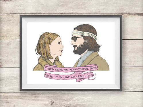 Margot and Richie - The Royal Tenenbaums Print