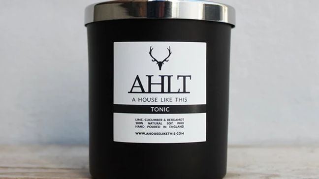 TONIC | Lime, Cucumber & Bergamot | Home Candle A HOUSE LIKE THIS