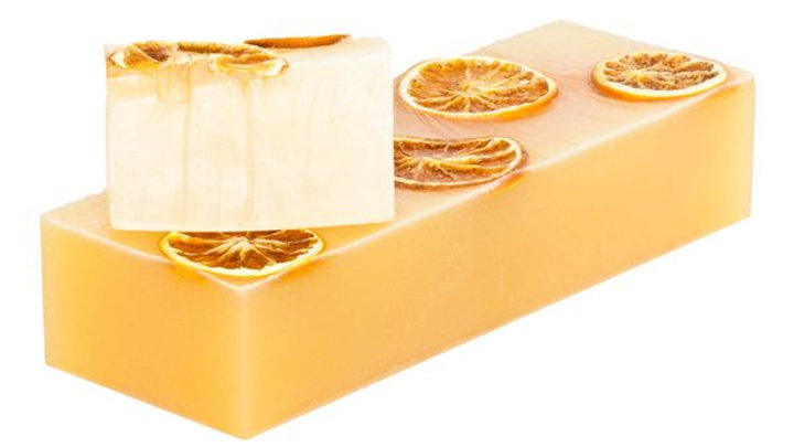 Beautiful Hand Made Organic Orange & Lime Soap