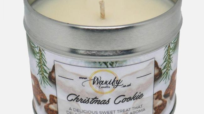 Waxify Christmas Cookie Candle