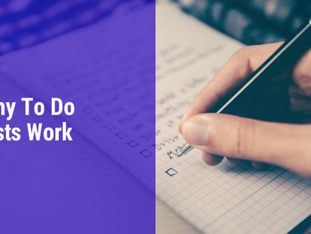 Why To Do Lists Work