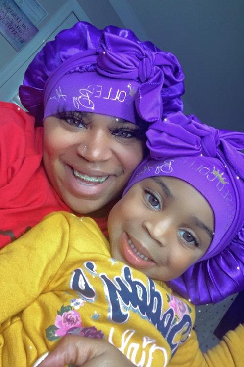 Mommy me bonnets
