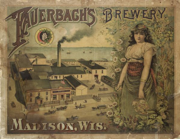 1800s Brewery Sign
