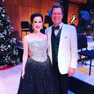 With Maestro, Ernest Richardson