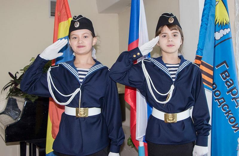 кадеты ВМФ сестры Тереховы
