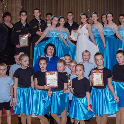 Победители муниципального Кадетского бала 2017