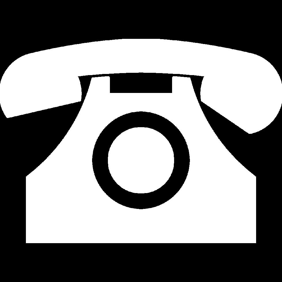 white telephone