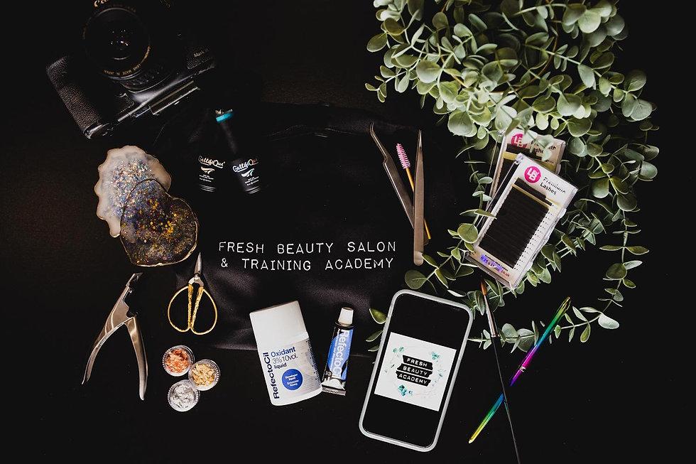 Fresh Beauty Academy Homepage Image
