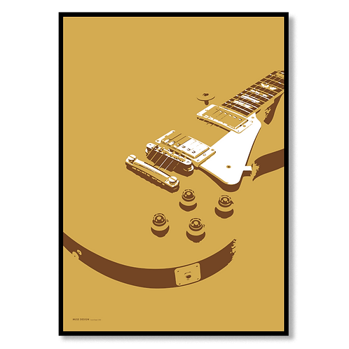 Elektrisk Guitar (50x70)