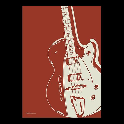 Basguitar (50x70)
