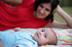 צילומי תינוקות ומשפחה בטבע